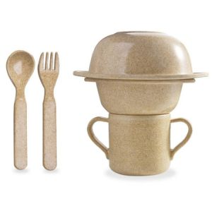 Rice Husk Dinnerware Set for Kids (BC-CS1088) pictures & photos