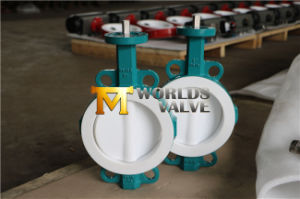Fully PTFE Lining Ggg40 Butterfly Valve (WDS04SERIES) pictures & photos