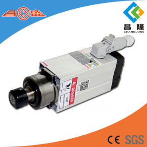 Ce Standard Air Cooled CNC Spindle Motor 2.2kw 18000rpm for Woodworking pictures & photos