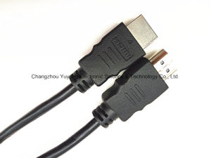 HDMI Premium Quality 5.0 for High Speed, 3D and 4k, Black Cable pictures & photos