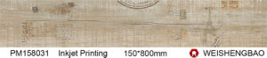 Wood Look Full Polished Glazed Porcelain Tile pictures & photos