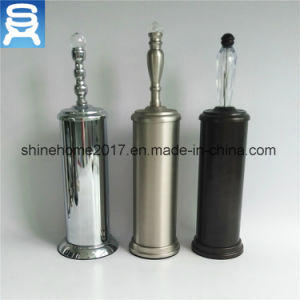 High Quality Modern Bathroom Metal Standing Bathroom Accessory Toilet Brush Holder pictures & photos