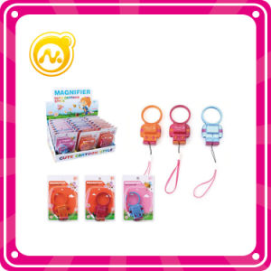 New Product Robot Magnifying Glass Toy with 3 Color pictures & photos