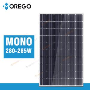 Moregosolar Mg Series Monocrystalline Solar Panel 280W 285W with Reasonable Price pictures & photos