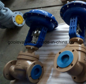 Globe Type Pneumatic Pressure Control Valve (ZJHP) pictures & photos