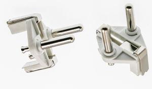 Hollow Pin Euro Konturen Plug Inserts/2-Pin VDE Germany Insert Plug