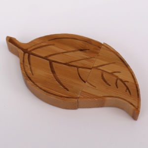 Wholesale Leaf Shape 1GB-64GB Wooden USB Flash Drive pictures & photos