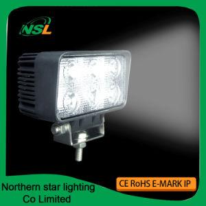LED Working Lights 18W 6PCS * 3W Epistar Spot Flood Beam Auto Accessories pictures & photos