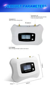 Cell Phone Signal Booster 900MHz 2g pictures & photos