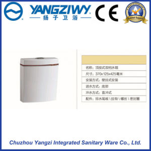 Wall-Mounted PP Toilet Cistern for Squatting Pan (YZ1096) pictures & photos