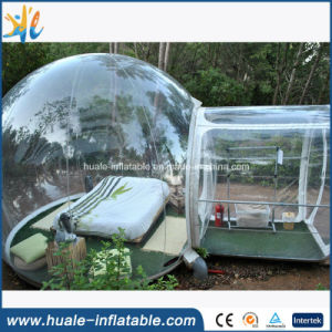 2016 Camping Clear Transparent Inflatable Bubble Tent with Tunnel for Sale pictures & photos