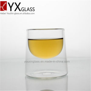 150ml Borosilicate Double Wall Glass Cup/New Style Reat-Resistant Tea Cup/Coffee Espresso Mug pictures & photos