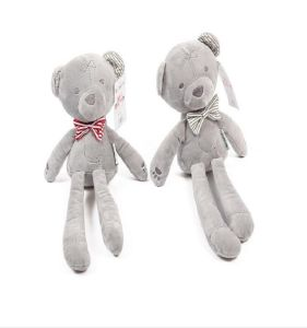 Soft Stuffed Bowknot Plush Teddy Bear pictures & photos
