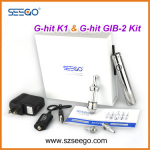 New Seego Best Vaping G-Hit K1 + Battery Kit with Glass Tank Pen pictures & photos