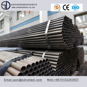 Ss330 Carbon Round Black Annealed Steel Pipe/Tube for Desk/Fence/Chair pictures & photos