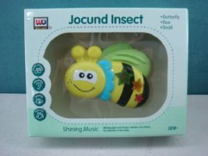 Kids Plastic Educational Jocund Insect Baby Toy pictures & photos