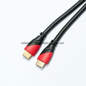Gold Plated HDMI Cable with Nylon Braid 1.4V pictures & photos