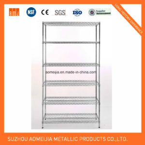 Metal Wire Display Exhibition Storage Shelving for Russia Shelf pictures & photos