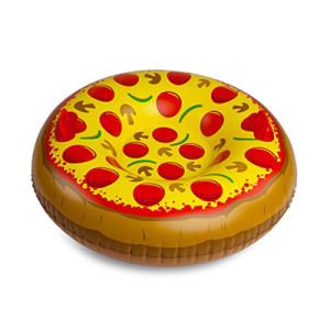 High Quality PVC or TPU Inflatable Pizza Snow Tube pictures & photos