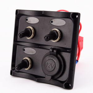 ABS LED Laser Bar Auto Car Marine Rocker Switch Panel pictures & photos