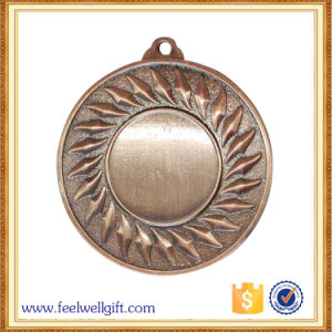 High Quality Custom Beautiful Sports Antique Bronze Blank Insert Medal pictures & photos