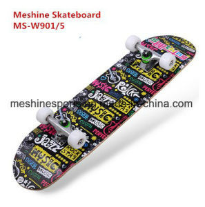 2017 Cheap Good Quality 4 Flashing Wheels Skateboard Scooter pictures & photos