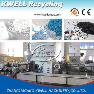 PP Granulator of Sj Series with Force Feeding PP Bag Recycling Granulation pictures & photos