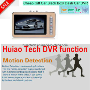 Slim Hot Sale 1.3 Mega Car Dash Camera Digtial Video Recorder Black Box with Motion Detection Car Truck DVR-2443 pictures & photos
