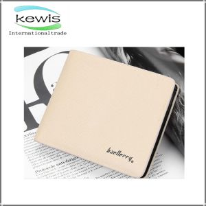 Short Calf Leather Billfold PU Wallet for Women pictures & photos