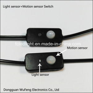 Light Sensor and PIR Motion Sensor LED Switch pictures & photos