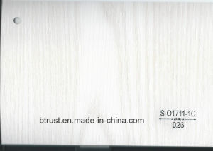 Wood Grain PVC Deco Foil for Furniture/Cabinet/Door Hot Laminate/Vacuum Membrane Press Bgl025-030 pictures & photos
