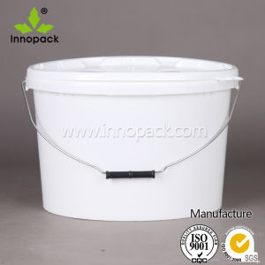 15L High Quality Plastic Oval Pails for Chemical Products pictures & photos