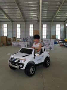 stunning 2 seater big suv style 12v battery operated car for kids with music lights doors mp3 and remote control ride on lc car017