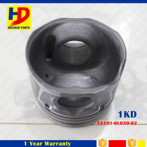 Excavator Diesel Engine Parts 1kd for Piston, OEM Number (13101-0L030-02) pictures & photos
