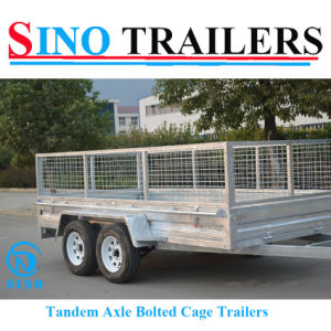 Dual Axles Sino 9*6 Furniture Trailer pictures & photos