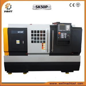 Sk50p Rigid Stand Turning Center CNC Lathe Machine pictures & photos