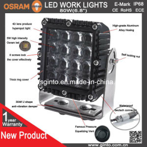 High Power 80W 4D Lens Waterproof LED Work Light pictures & photos