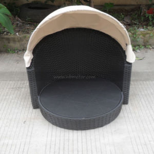 Mtc-481 Outside Patio Furniture Pet Furniture Rattan Canopy Dog Bed pictures & photos
