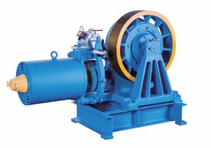 Geared Traction Machine of Elevators (YJ245-B Series) pictures & photos
