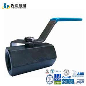 Carbon Steel 1PC Internal Thread Ball Valve pictures & photos