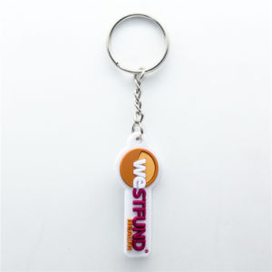 Cartoon PVC Sport Key Chain pictures & photos