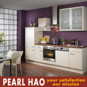 Simple Style Modular MDF Melamine Kitchen Cabinets pictures & photos