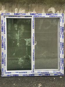 PVC/UPVC Sliding Window with Screen Net, Popular Window pictures & photos