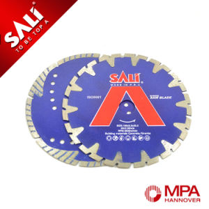 High Quality Cold Pressed Diamond Saw Blade for Cutting Marble pictures & photos