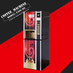 Coin Operated F306-Dx Table Top Coffee Vending Machine pictures & photos