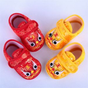 Chinese Embroidery Baby Shoes for Winter