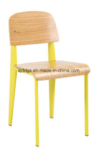 Iron Stool Wooden Chair Leisure Chair pictures & photos