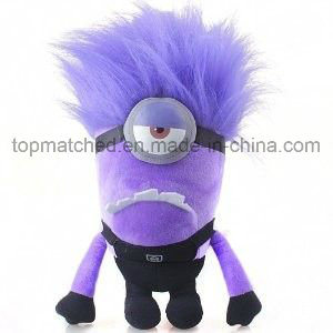 Despicable Me 2 Stuffed Cartoon Plush Toys Evil Minion Doll for Kids pictures & photos