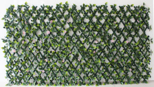 2017 New Extension-Type Balcony PVC Flower Racks Hedge with Rose Vines (MZ192003A) pictures & photos