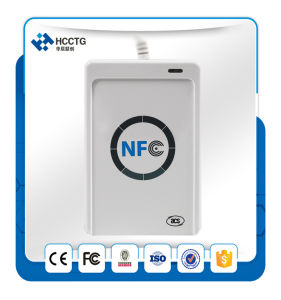 Contactless USB Mini Handheld 13.56MHz NFC Smart Card RFID Reader Writer Price ACR122u pictures & photos